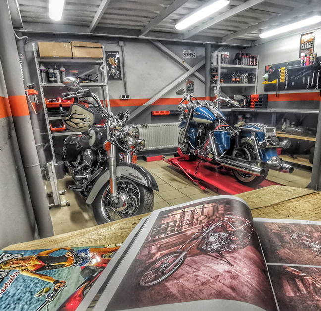 HARLEY RIDERS GARAGE | Мото-сервис Harley-Davidson